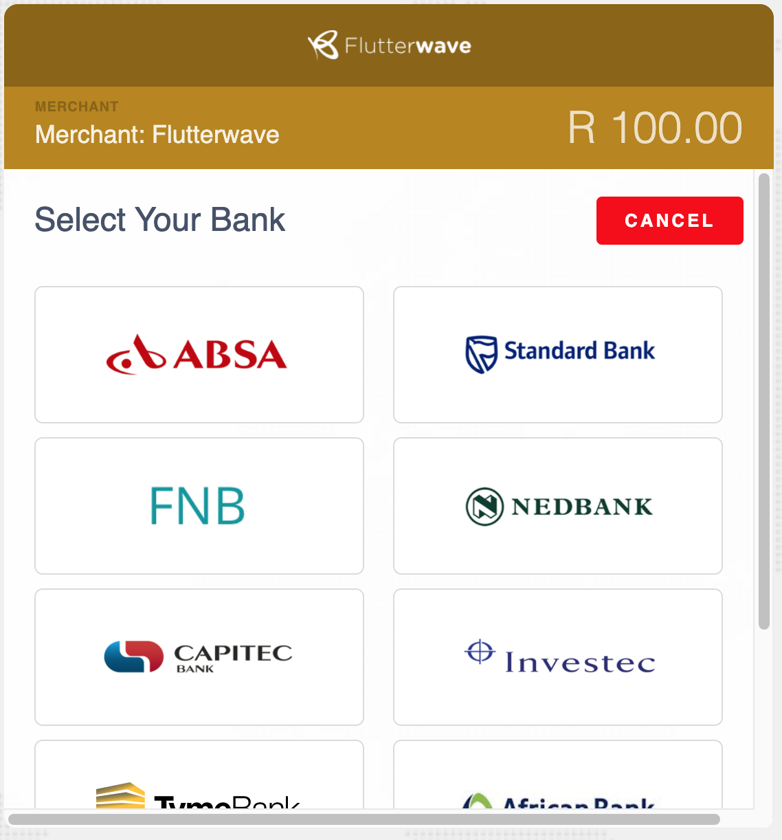 Banks to choose in South Africa