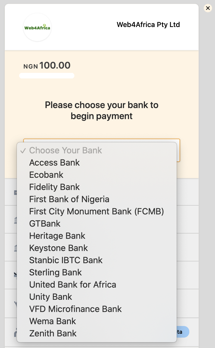 USSD payment in Nigeria
