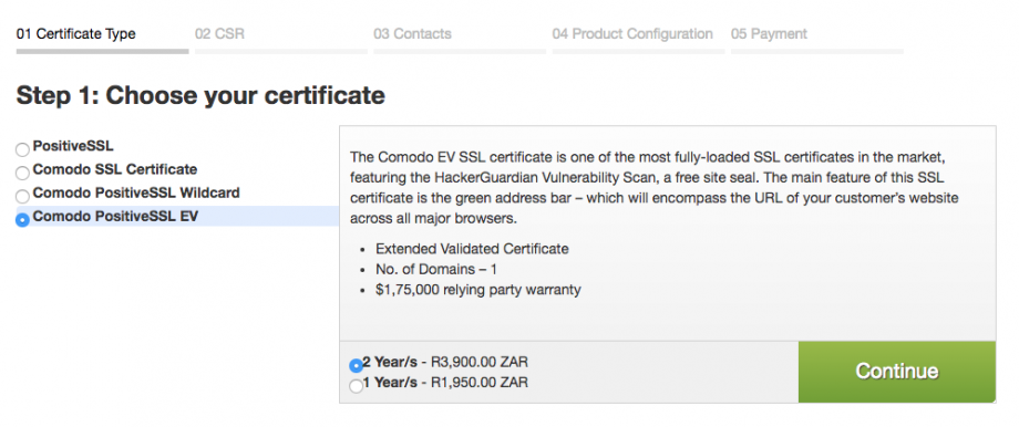 How to Order for SSL Certificates from Web4Africa - Web4Africa ...